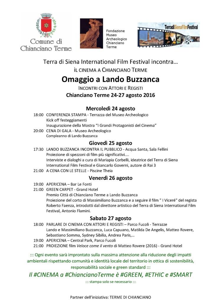 Terra di Siena Film Festival incontra
