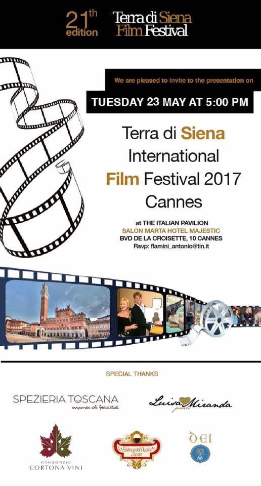 Terra di Siena a Cannes 2017